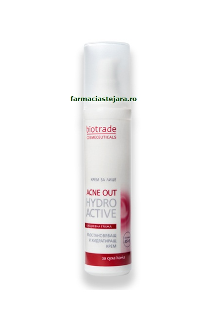 Biotrade Acne Out Hydro Active Crema hidratanta ten acneic uscat
