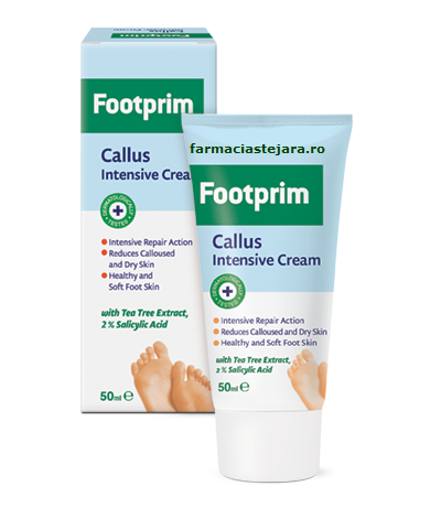 Footprim crema intensiva anti-bataturi Callus Intensive 50 ml