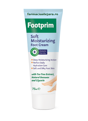 Footprim Crema hidratanta de picioare Soft Moisturizing 75 ml
