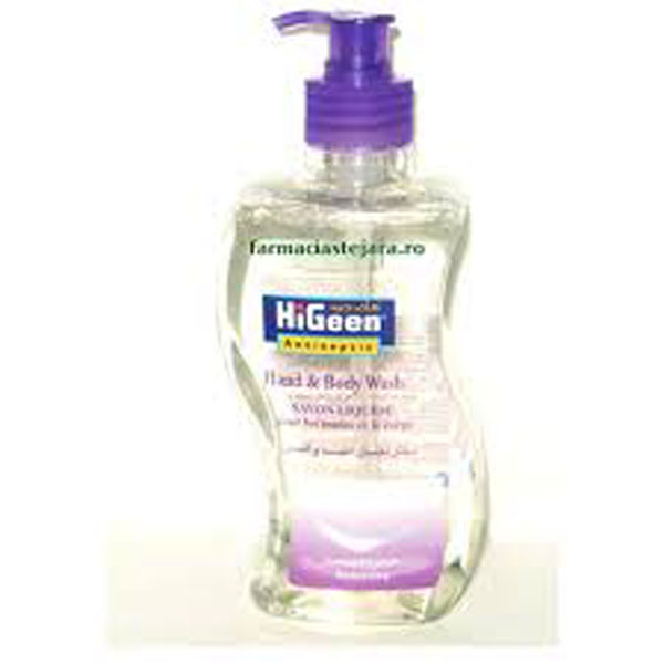 HiGeen Gel dus antiseptic Sensitive 500ml