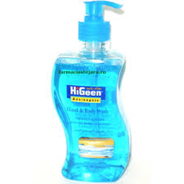 HiGeen Gel de dus antiseptic  500ml