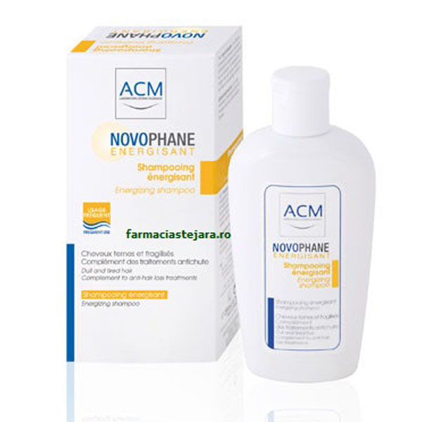 ACM Novophane Sampon energizant 200 ml
