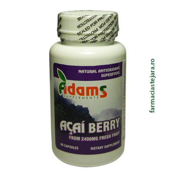 Adams Acai Berry Capsule