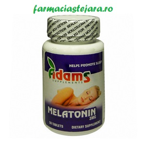 Adams Melatonina Sublinguala tablete  3mg