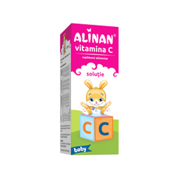 Fiterman Alinan Vitamina C Kids Solutie15% 20 ml