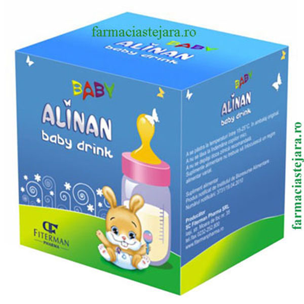 Alinan  Baby happy  drink  X  20  plicuri