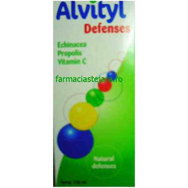 Alvityl Defenses sirop 120 ml