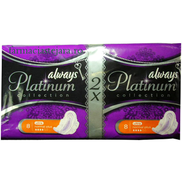 Always Platinum  Ultra Normal Plus 2X8