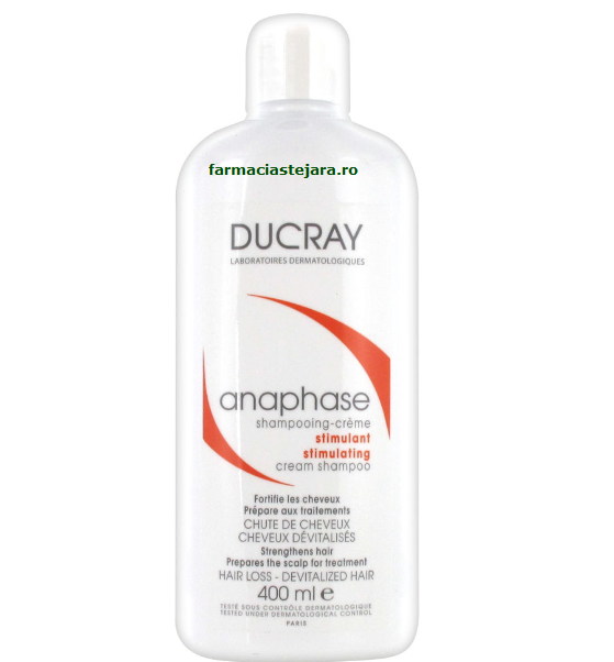 Ducray Anaphase Sampon-crema stimulator 400ml
