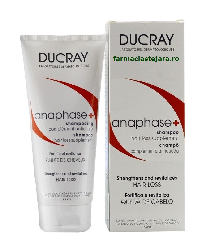 Ducray Anaphase sampon-crema stimulator 200 ml