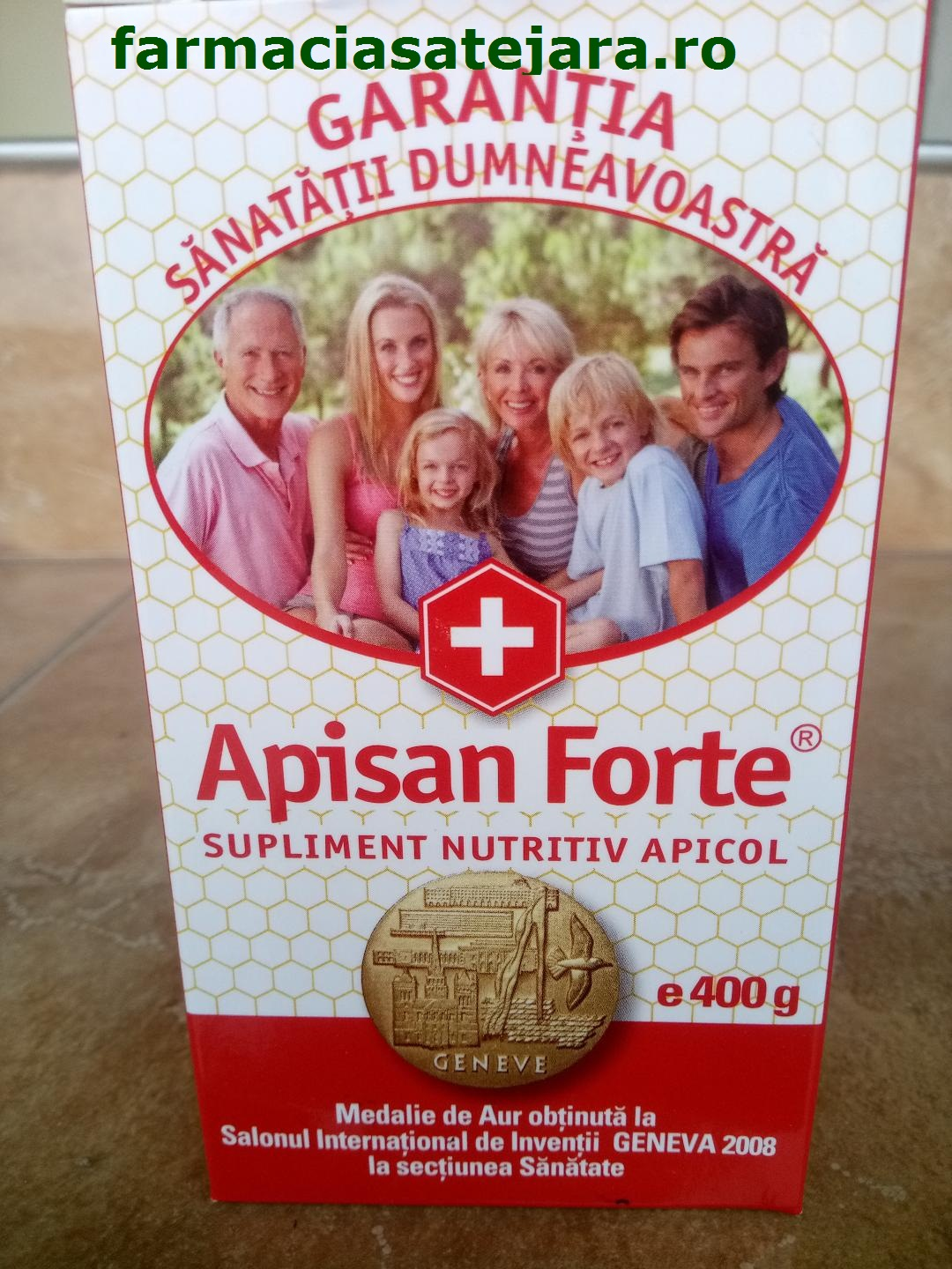 Apisan Forte supliment apicol exceptional 400g