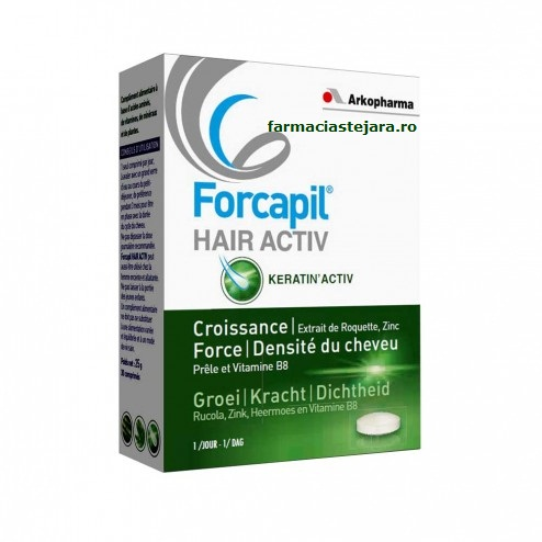 Arkopharma Forcapil Hair Activ x 30 tablete