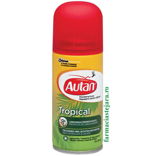Autan Tropical Spray Uscat Repelent
