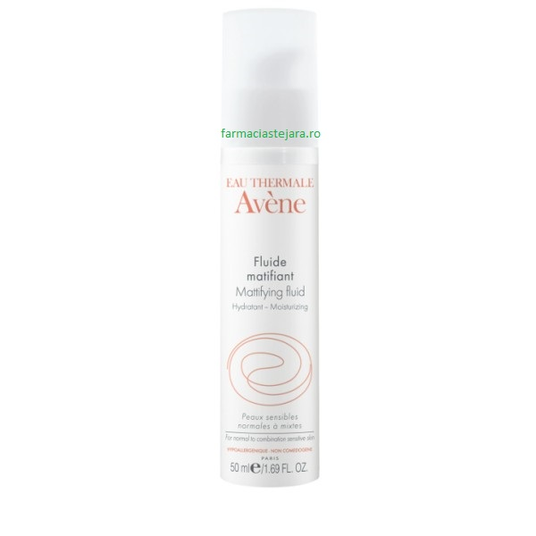 Avene Fluid matifiant-hidratant ten normal-mixt spre gras