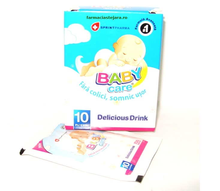 Sprint Pharma Baby Care Drink anticolici pliculete
