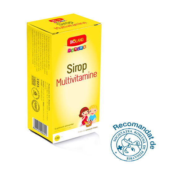 Biofarm Bioland Junior Sirop multivitamine