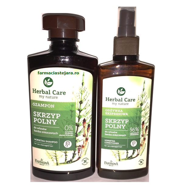 Cadou Farmona Herbal Care Regenerare par deteriorat