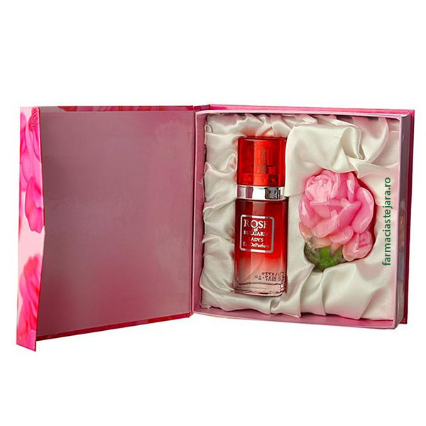 Cadou Rose of Bulgaria Apa de parfum 25ml+Sapun solid