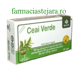 Helcor Ceai verde 500  mg  tablete