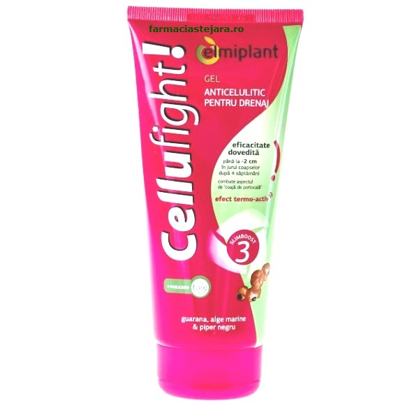 Elmiplant CelluFight Gel anticelulitic cu efect termo-activ