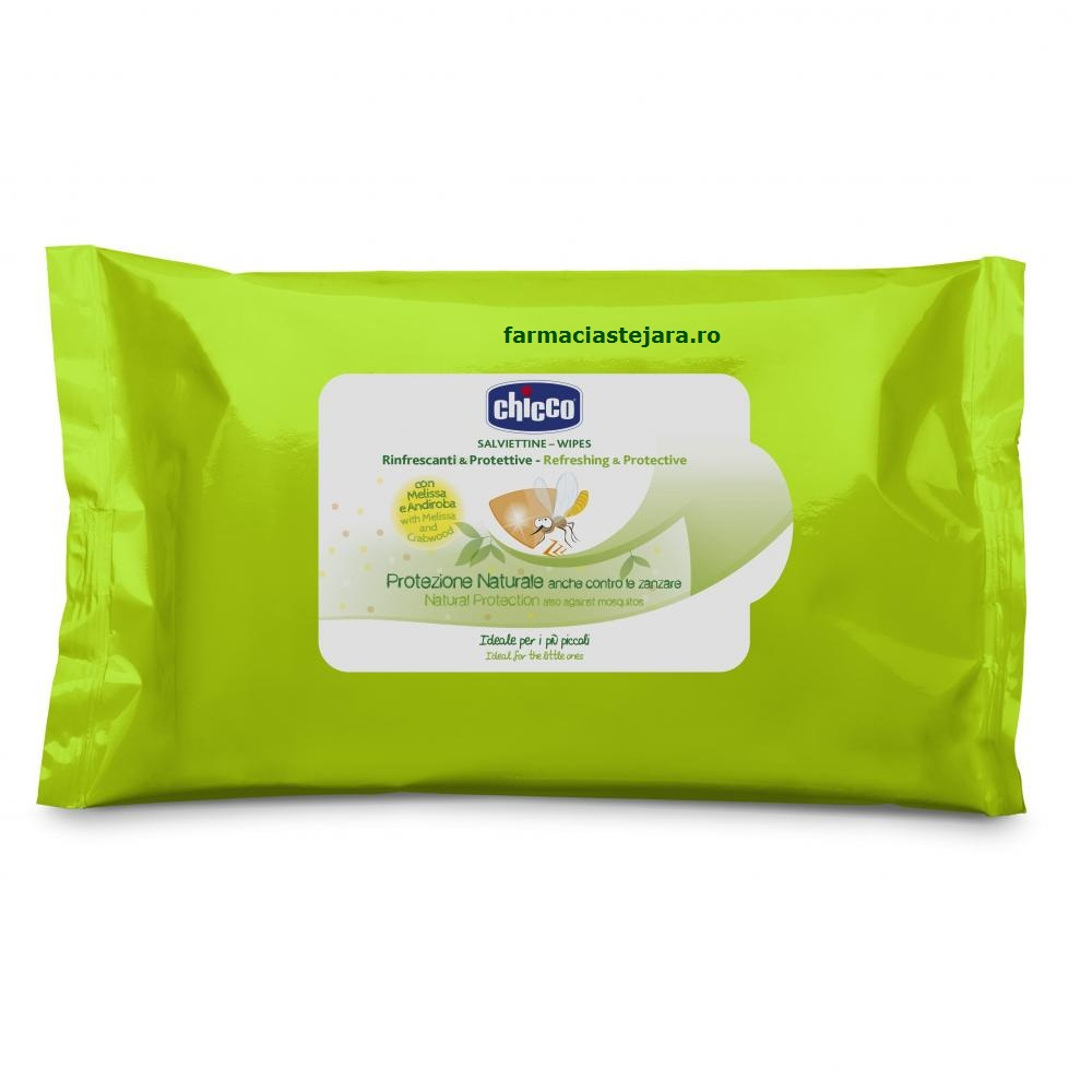 Chicco Servetele anti-tantari Zanza-no 6+ luni