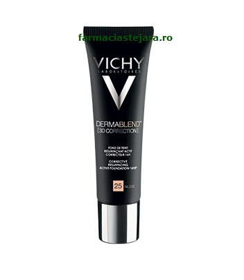 Vichy Dermablend 3D Correction Fond de ten corector 45 Gold