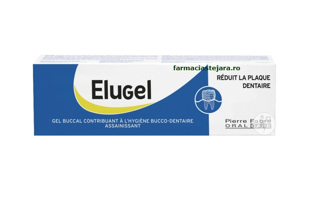 Elugel gel antiseptic bucal 40ml
