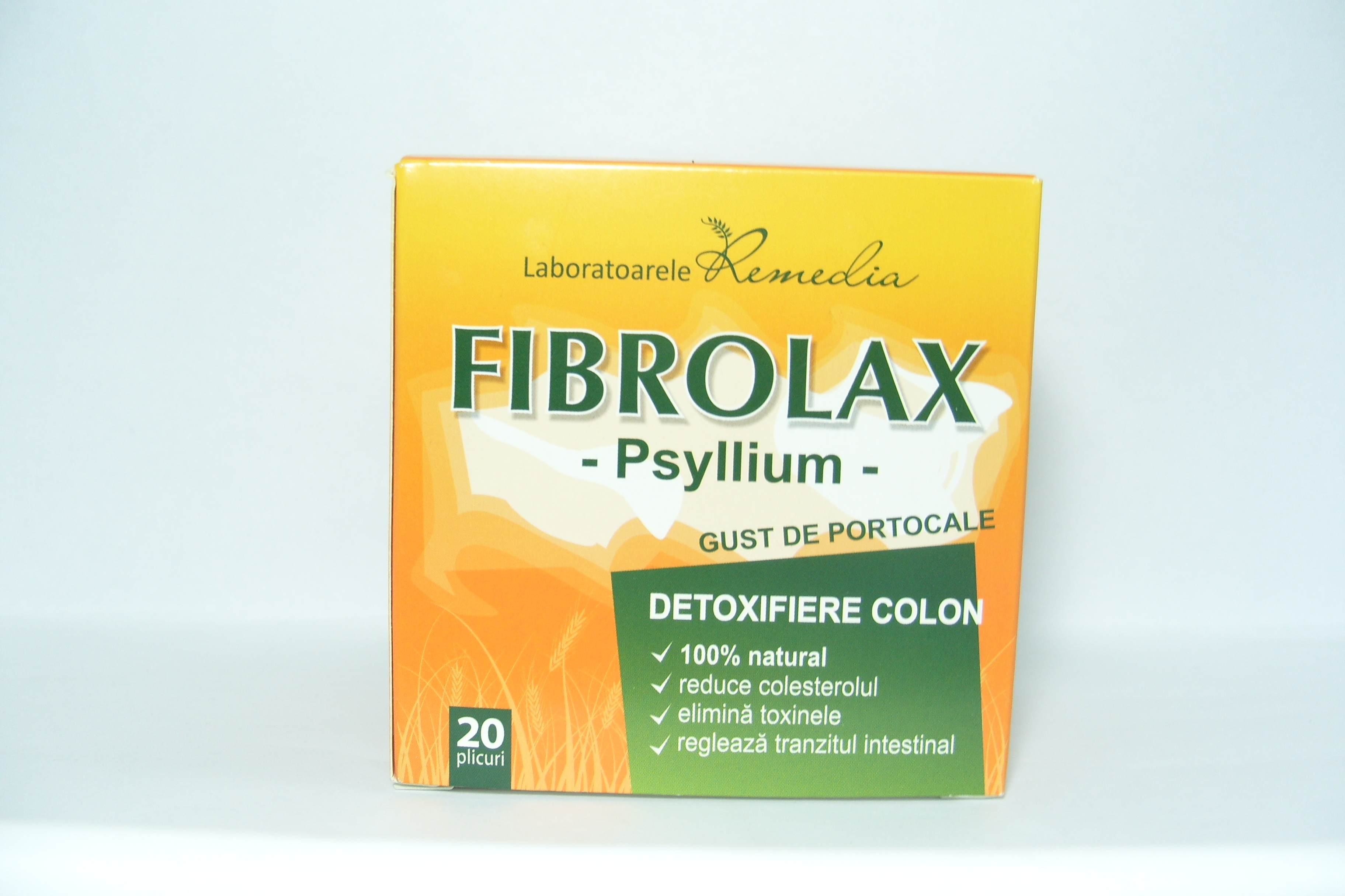 Lab.Remedia Fibrolax -detoxifiant colon  plicuri