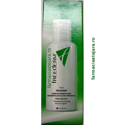 Freederm sampon antimatreata  cu  Zinc Pirition 2%