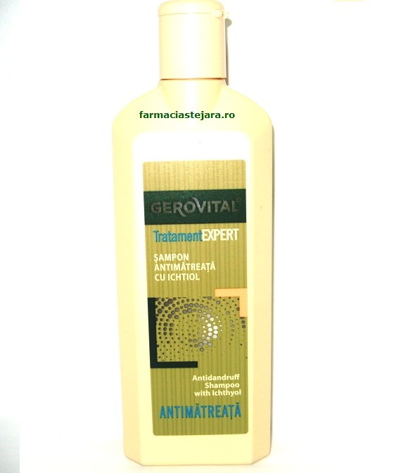 Gerovital TratamentExpert Sampon antimatreata cu ichtiol 250ml
