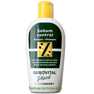 Gerovital Plant Tratament Sampon Sebum control 200 ml
