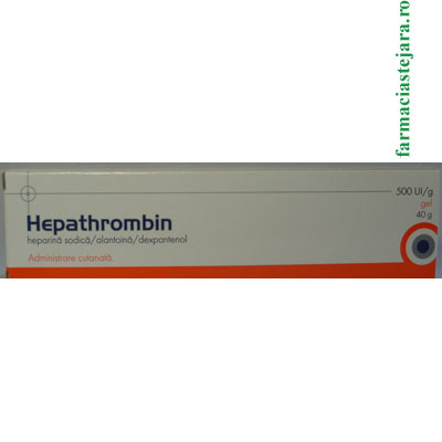 Hepathrombin 500UI Gel