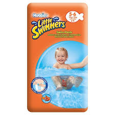 Huggies Little Swimmers-Chilotei impermeabili M (11-18 kg) X 11
