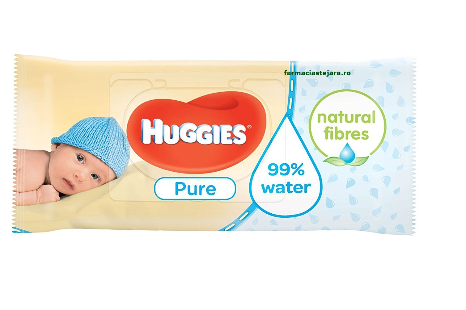 Huggies Pure Servetele Umede