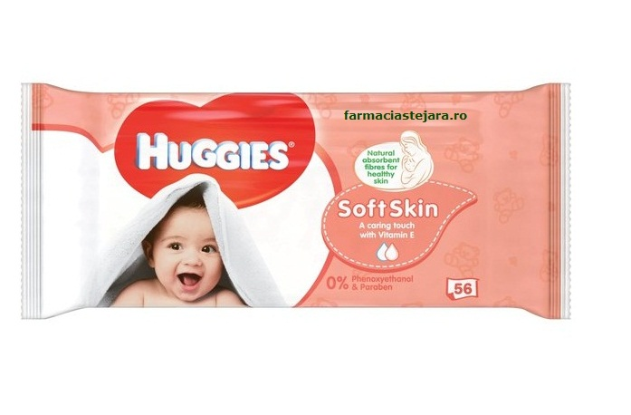 Huggies Soft&Skin Servetele Umede