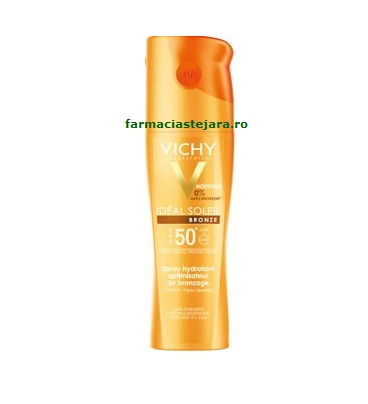 Vichy Ideal Soleil Bronze SPF 50 Spray intensificator al bronzul