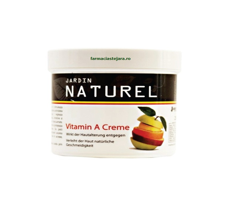 Jardin naturel crema cu vitamina a 250ml for Jardin naturel