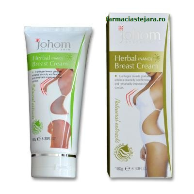Crema marire si tonifiere sani Johom Herbal 200 ml
