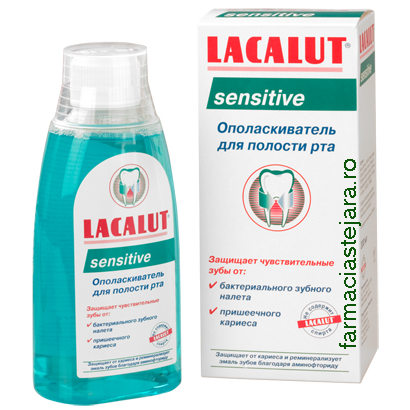 Lacalut Sensitive Apa de gura 300 ml
