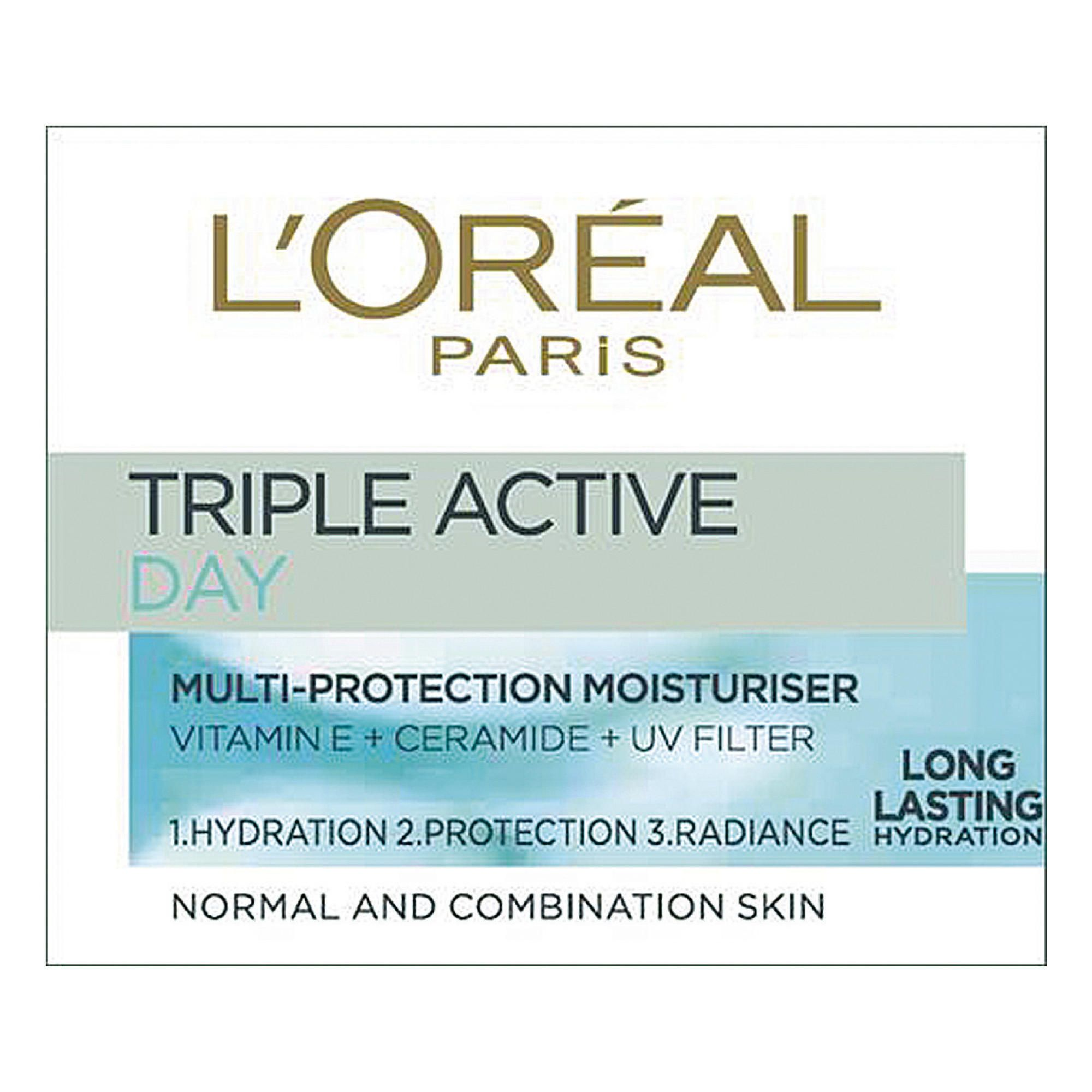 L'Oreal Triple Active crema hidratanta zi ten normal-mixt