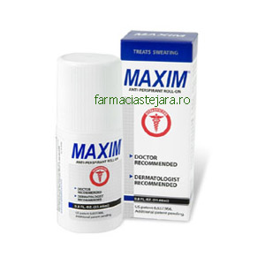 Maxim  Antiperspirant  roll-on