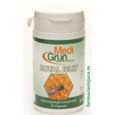MediGrun Royal Jelly (Laptisor de matca )Capsule