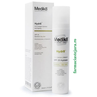 Medik8 Hydr8 Crema hidratanta anti-age ten normal-gras SPF 25