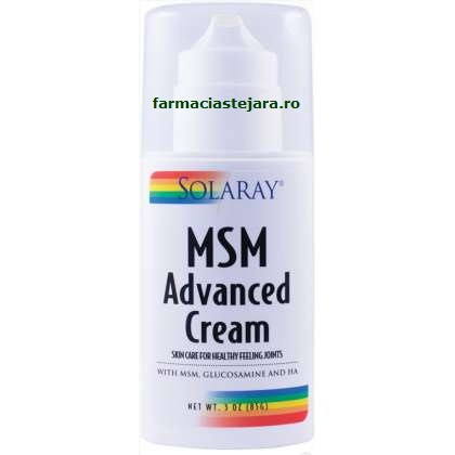 Secom Solaray MSM Advanced Cream