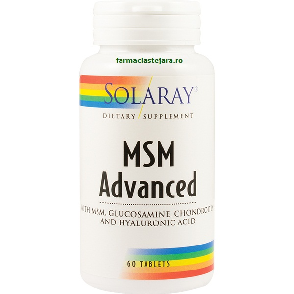 Solaray MSM Advanced x 60 tablete
