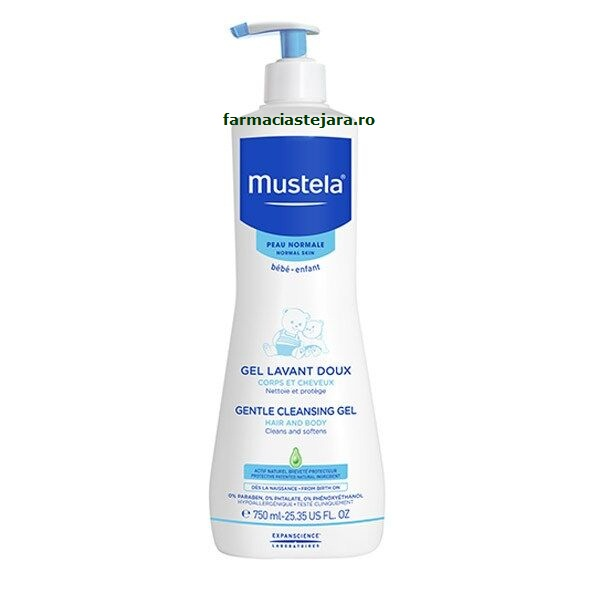 Mustela Bebe dermo-cleansing 750 ml