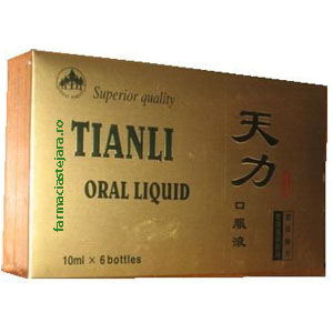 ... barbati » Performante sexuale » Tianli Natural Potent x 6 fiole