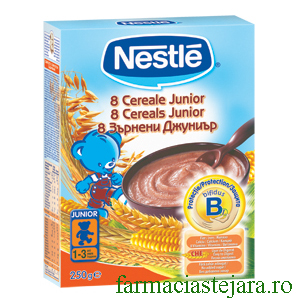 Nestle - 8 Cereale Junior
