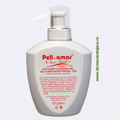 Pell Amar Therapy Gel purificator pentru ten 250 ml
