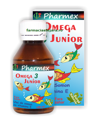 Pharmex Omega3 Junior sirop 100ml